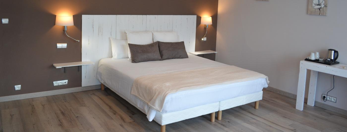Nos chambres confortables